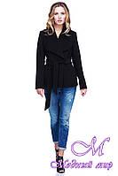 Короткое женское пальто больших размеров (р. 42-54) арт. Эльвира 50