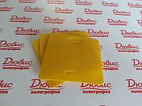 Бирки кабельные маркировочные желтые У -134 У3,5 купить, фото 1