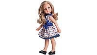 Кукла Карла в платье с синим бантом Paola Reina подружки-модницы 32 см AMIGAS 04506 Паола Рейна
