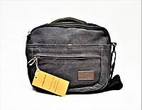 Мужская тканевая сумка серого цвета GGG-768515, фото 1