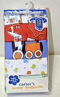 Набор бодиков Carters для мальчиков с длинным рукавом, возраст 12 месяцев