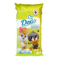 Салфетки детские влажные Dada Naturals 72 шт.