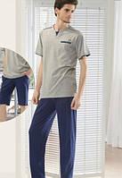 Мужская пижама тройка, домашний комплект