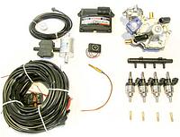 Комплект STAG-4 Q-BOX PLUS, ред. Artic 160 л. с., ДТР, форс. Hana Single, распред, штуцера, ф. 1-1