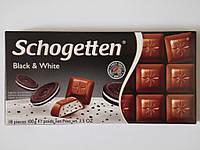 Шоколад Schogetten Black&White 100г