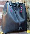 Кожаная сумка-мешок Babak 883076, фото 2