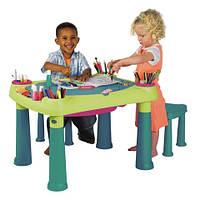 Игровой столик Creavive + 2 stool