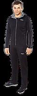 Черный спортивный костюм мужской F50 (р. 46-54) арт. 378D