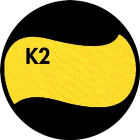 Цвет однотонный - Ярко-жёлтый