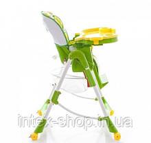 Стульчик Bambi RT 002 L для кормления с корзиной на колесиках  , фото 3