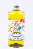 """Шампунь для окрашенный и мелированных  волос от ТМ """"Зелёная аптека"""", 1000 мл"""