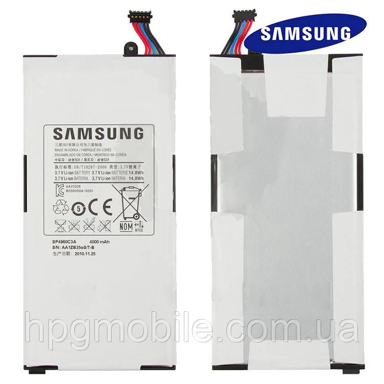 Аккумулятор (АКБ, батарея) GH43-03508A, SP4960C3A для Samsung Tab P1000, P1010, 4000 mAh, оригинал