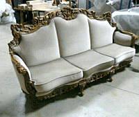 Эксклюзив.Мягкая мебель в стиле барокко. Диван тройка.