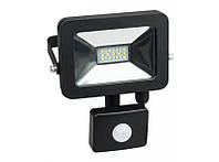 Luxel прожектор светодиодный с датчиком движенияLPES-10C (10W)