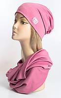 "Комплект шапка и баф ""Chanel"""