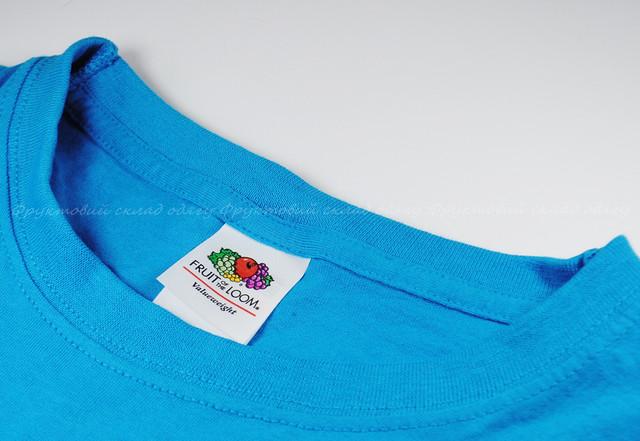 Ультрамариновая детская классическая футболка для мальчиков