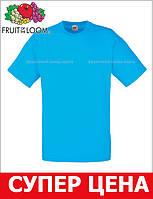 Мужская Футболка Классическая Fruit of the loom Ультрамарин 61-036-Zu M