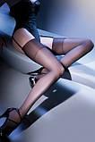 Чулки Gabriella Calze Cher 15 den под пояс ЦВЕТ ЧЕРНЫЙ, фото 2