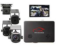 Автомобильный видеорегистратор на 4 камеры, с GPS  - Smarty BX 4000, оригинал