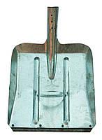 Лопата снег-зерно оцинк. 1,0мм, 350х340 мм