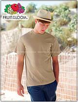 Мужская футболка класическая 100% хлопок 61-036-0