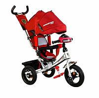 Велосипед детский трехколесный Crosser One T1 AIR, красный