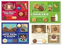 Самоклеющаяся этикетка для печения, фото 1