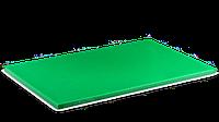 Доска разделочная пластиковая зеленая 510*380*13 мм