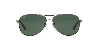 Солнцезащитные очки Ray-Ban Aviator CARBON FIBRE GUNMETAL / GREEN