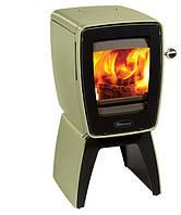 Чугунная печь Dovre Vintage 30 /E9 эмаль оливковый зеленый   - 5 кВт