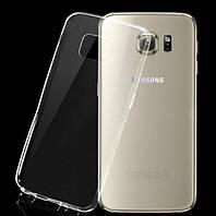 Ультратонкий прозрачный чехол (TPU) для Samsung Galaxy S6 TPU S6