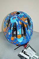 Велосипедный шлем ZeroRH+ Helmet Bike Kid 1 BLUE/HALLOWEEN (MD)