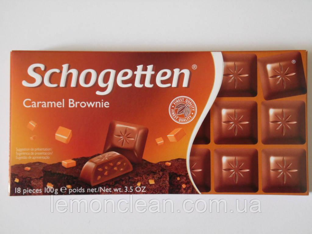 Шоколад Schogetten Caramel Brownie 100г