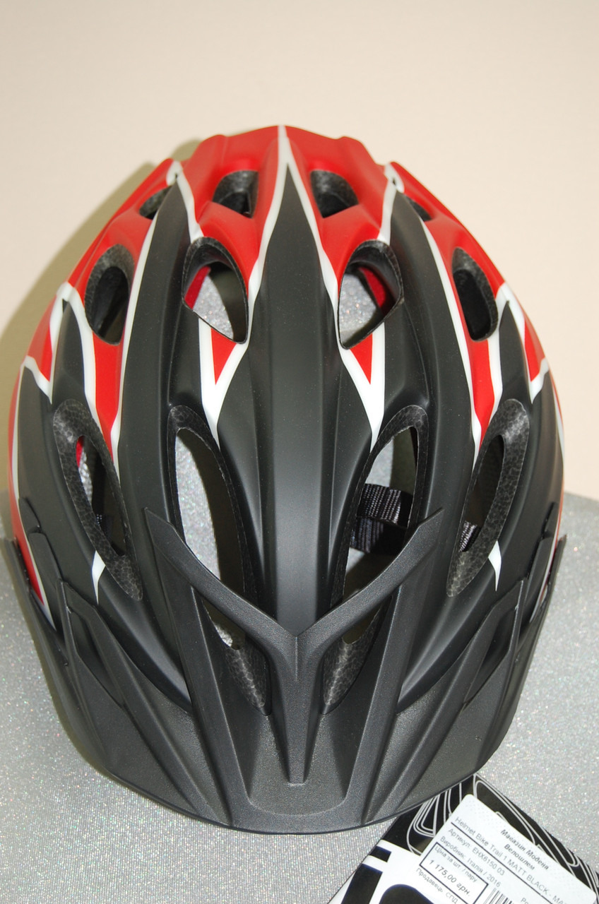 Горнолыжный шлем ZeroRH+ Helmet Bike Trail 1 matt BLACK-MATT red (MD)