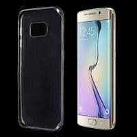 Силиконовый прозрачный чехол для Samsung Galaxy TPU+PC S6