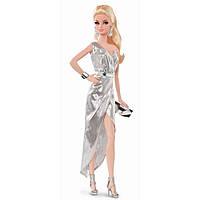 Кукла Barbie Сияние города Серебрянное платье - City Shine Barbie Silver Dress