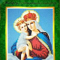 """Набор для вышивания бисером """"Мадонна с младенцем"""""""