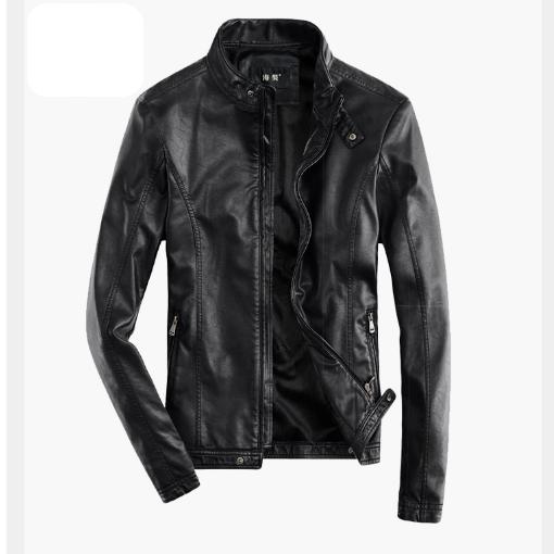 Мужская кожаная куртка. Модель 2017