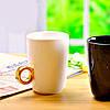 Чашка с кольцом / 2 Carat Cup / Чашка 2 карата