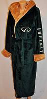 Домашний махровый халат для мужчин оптом и в разницу, фото 1