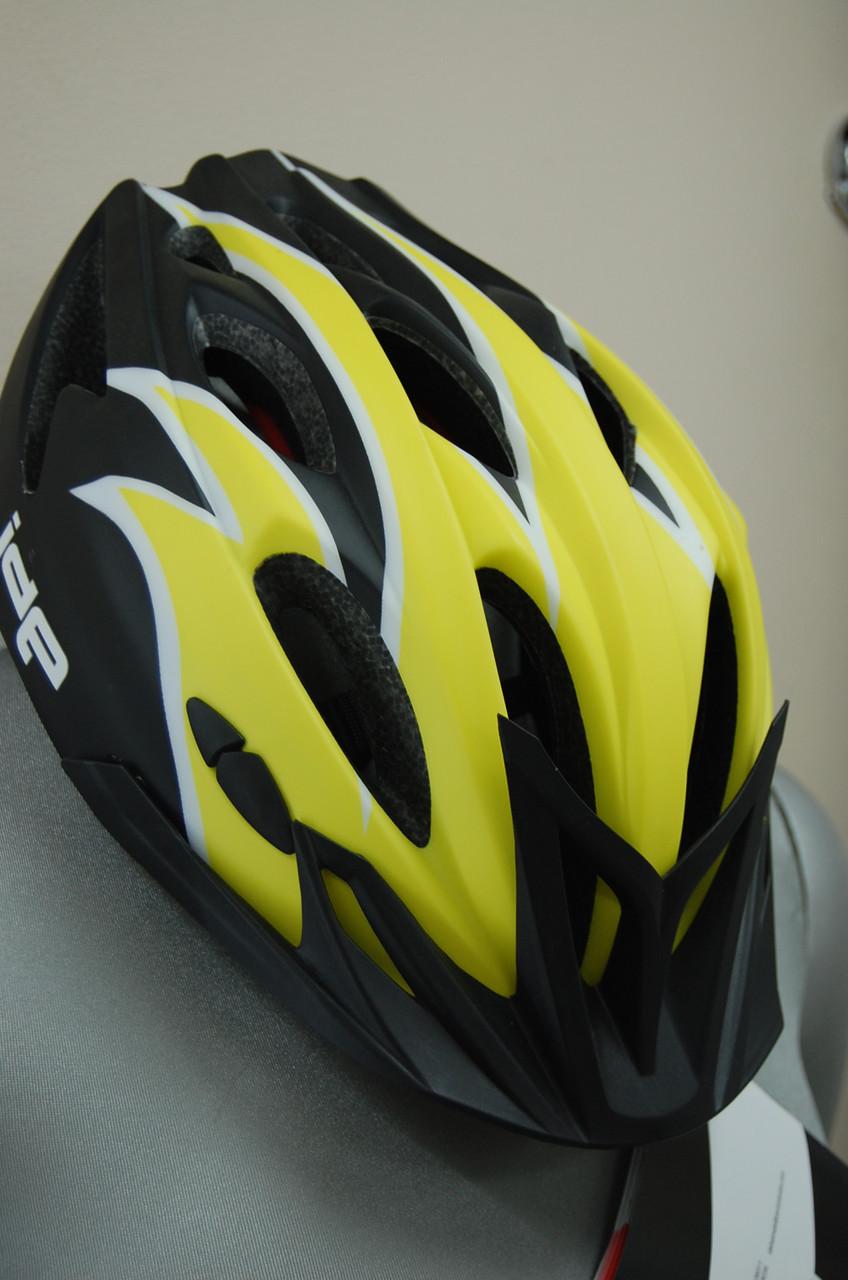 Велошлем ZeroRH+ Helmet Bike Trail 1 matt YELLOW-MATT black, XS, L (MD)