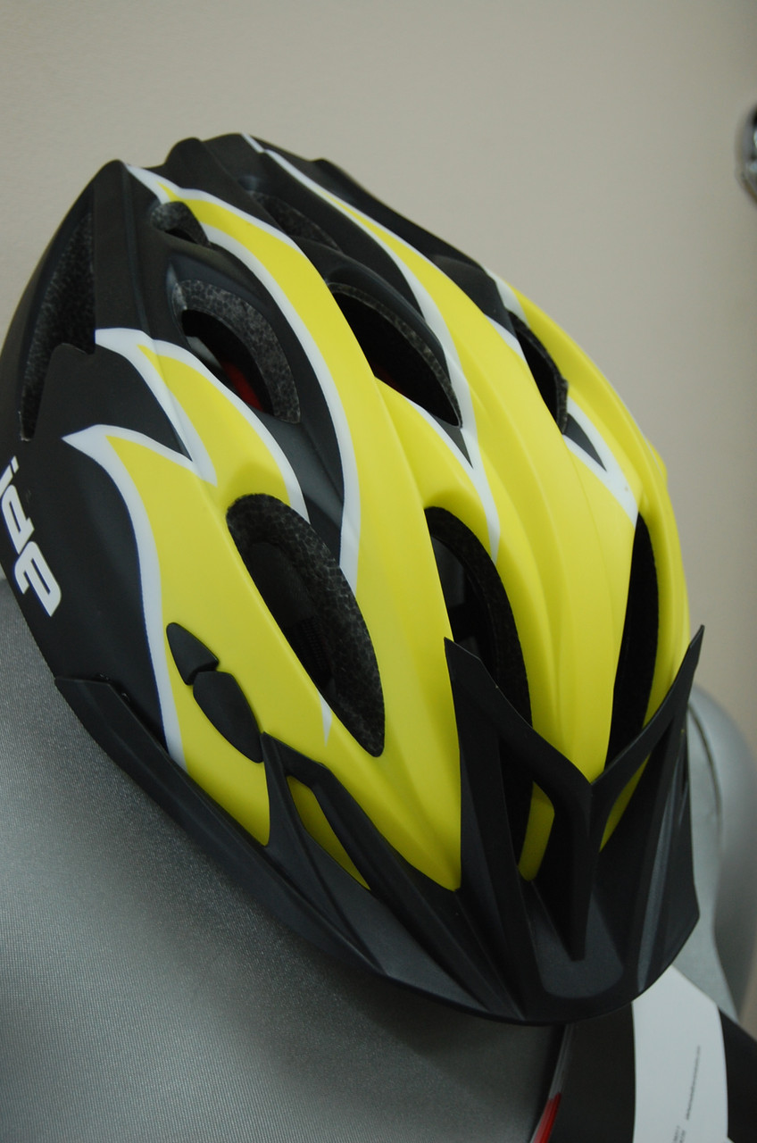 Велосипедный шлем ZeroRH+ Helmet Bike Trail 1 matt YELLOW-MATT black (MD)