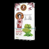 """Шоколад """"Зеленый чай с мятой"""" SHOUD'E"""