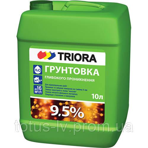 Грунтовка глубокого проникновения ТМ «TRIORA»