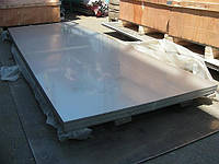 Лист нержавеющий кислотостойкий AISI 316L 5.0х1000х2000 2B матовая поверхность