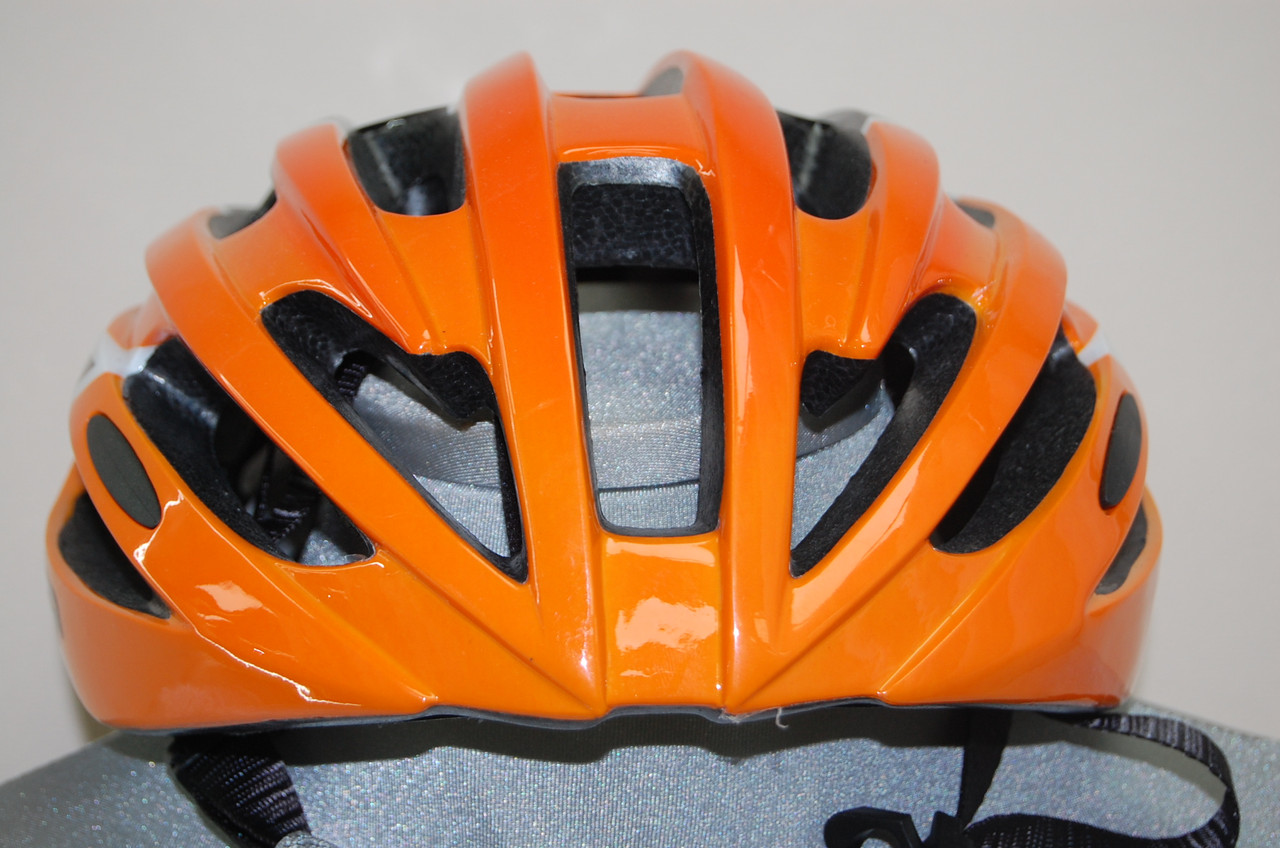Велошлем ZeroRH+ Helmet Bike Road 1 SHINY ORANGE-SHINY black (MD)