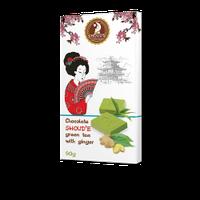 """Шоколад """"Зеленый чай с имбирём"""" SHOUD'E"""