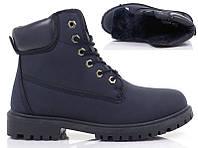Женские ботинки TIMBERKI BLUE