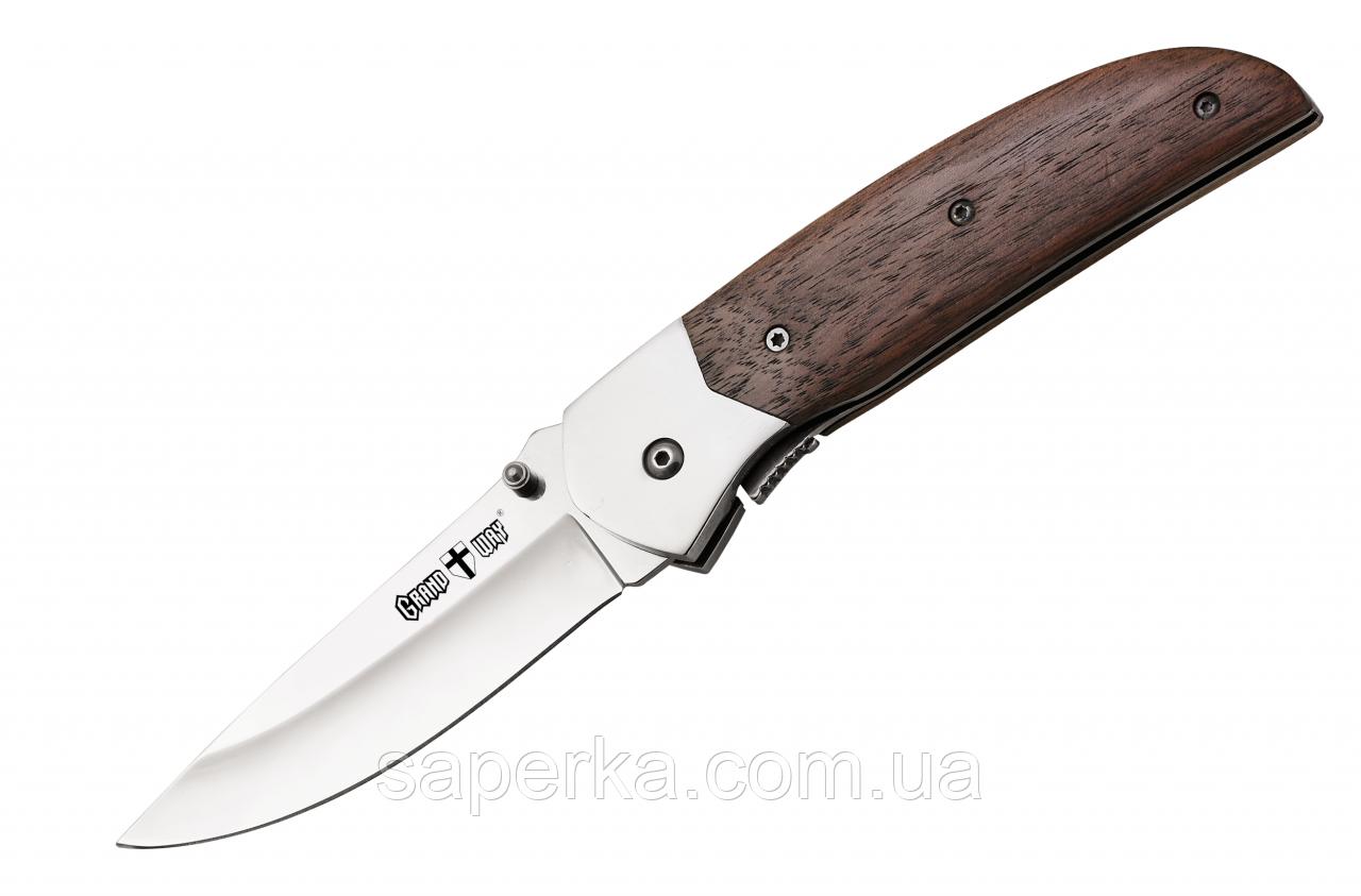 Нож складной туристический универсальный Grand Way 6334