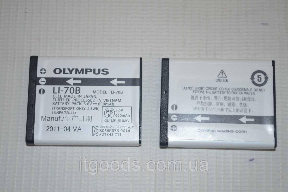 Аккумулятор Olympus Li-70B для FE-4020 | FE-4040 | FE-5040 | X-940